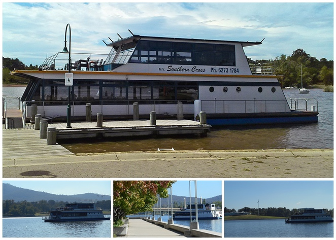 canberra southern cross cruises, canberra, lake burley griffin, cruise boats on lake burley griffin, ACT, tourism, dinner cruises,