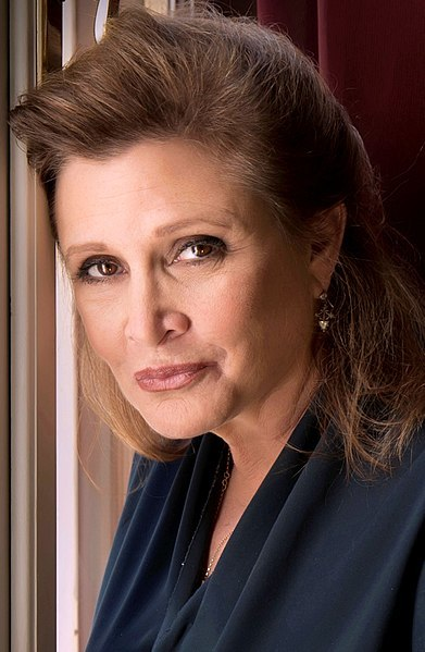 carrie fisher, writers born in October