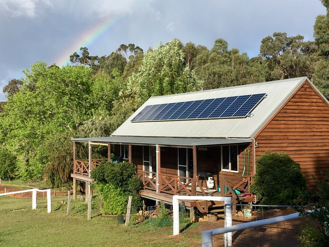 chalet, bridgetown, accommodation, rural, Sunnyhurst,