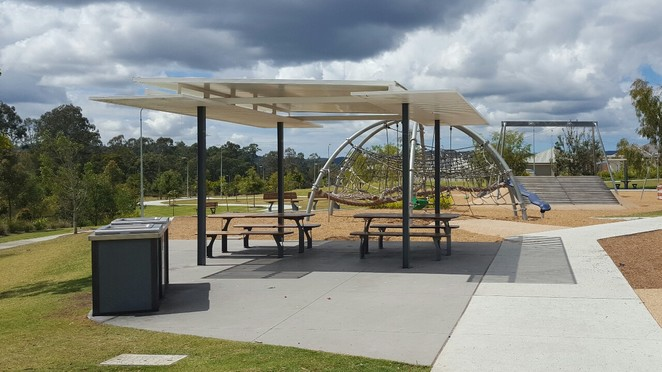 Darlington Park, Yarrabilba, gazebo, playground
