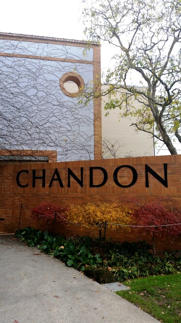 Domaine Chandon sister to Moet Chandon in France