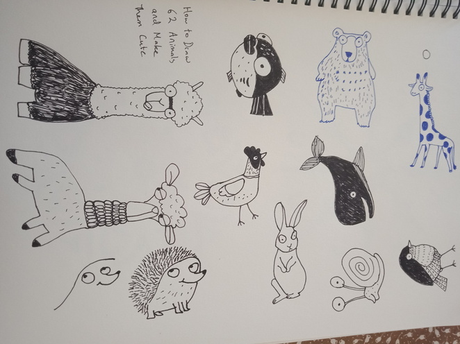 Draw 62 animals and make them cute, drawing, how to draw, books about drawing, how to draw books, draw cute animals