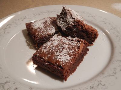 Choc & Caramel Chip Brownies Recipe