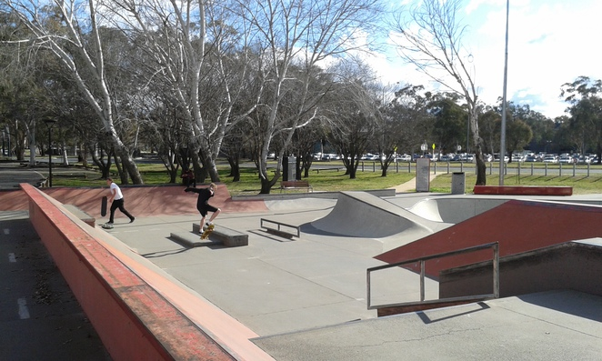 eddison park, woden, phillip, canberra, teenagers, things to do, canberra, ACT,