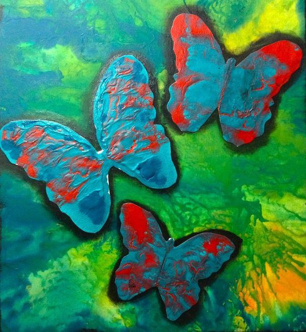 flutterby, sebastian studios holiday class, holiday art class brisbane, great holiday workshops for kids