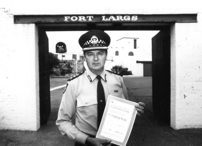 fort largs, faces of fort largs, sa police, south australia, photo exhibition, fort glanville, fort malta. national trust, state library, chief superintendent