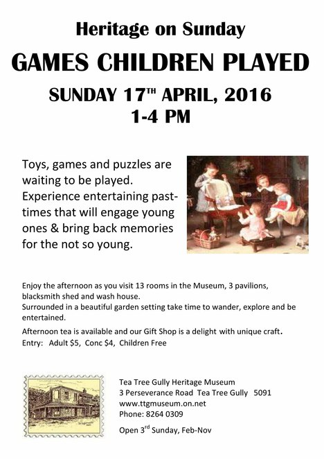 games children played, tea tree gully heritage museum, hoola hoops, wooden toys, kids, fun, games, devonshire tea