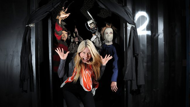 hollywood horrors royal adelaide show nightmares scary films attractions