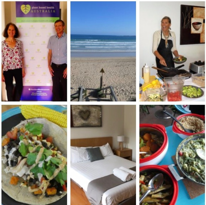 immersion retreat plant based health