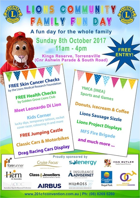 lions community family fun day