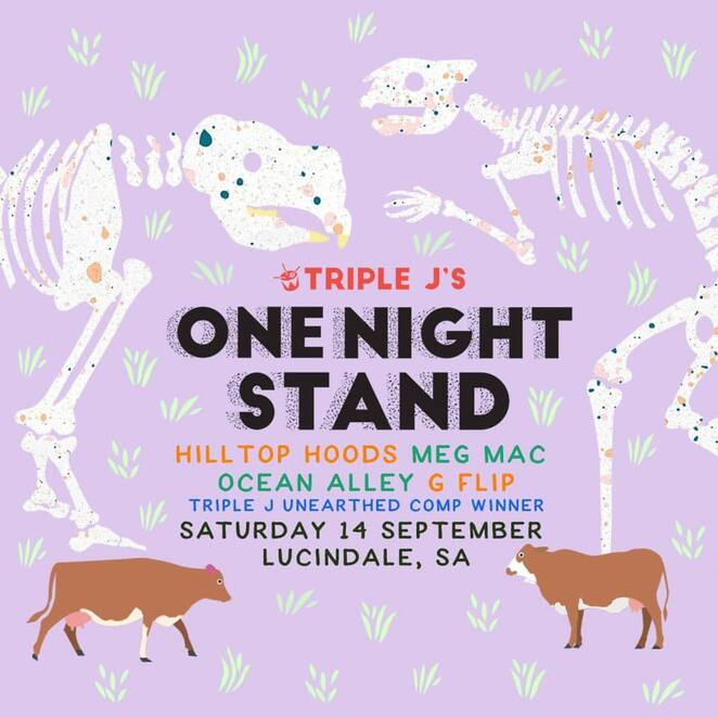 Lucindale, One Night Stand, Triple J, music, festival, youth radio, country SA, South East, music