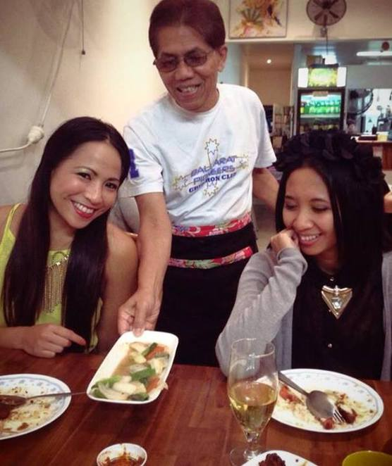 Service with a smile at Makanan Indonesia Restaurant