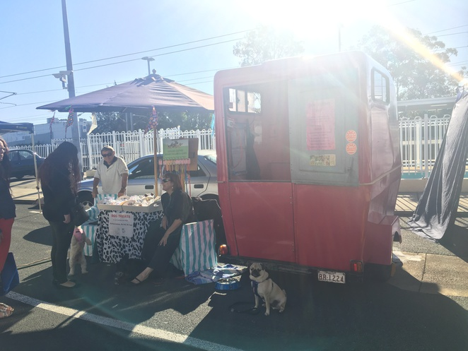 markets, brisbane markets, dog friendly, dog friendly markets, milton markets, carseldine markets, kelvin grove village markets, dog treats, dog ice cream, hugo's ice creamery, soapy moose, the soapy moose, jojo and lola's jerky chompers, cherry pie's delight, nundah markets