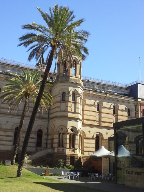 Mortlock Wing from Eastern side