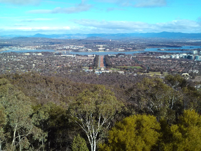 mount ainslie lookout, canberra, ACT, self drives, canberra tracks,