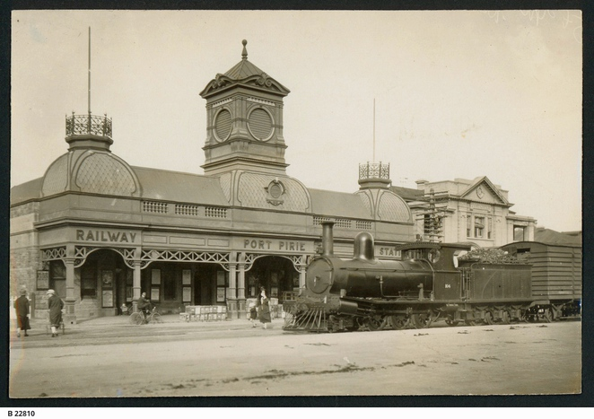 railway station, south australia, mid north, sa country rail, south australian railways, in adelaide, heritage listed, railway history, steam engine, port pirie railway station