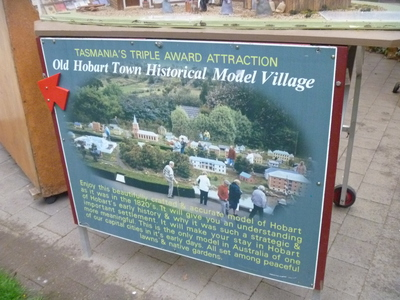 Model Historic Hobart Town Village