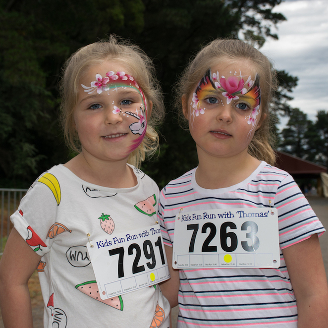 Pick out your favourite Face Paint Theme to compliment your outfit