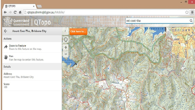 QTopo let's you download detailed topographic maps of Queensland