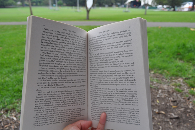 Reading at The Domain