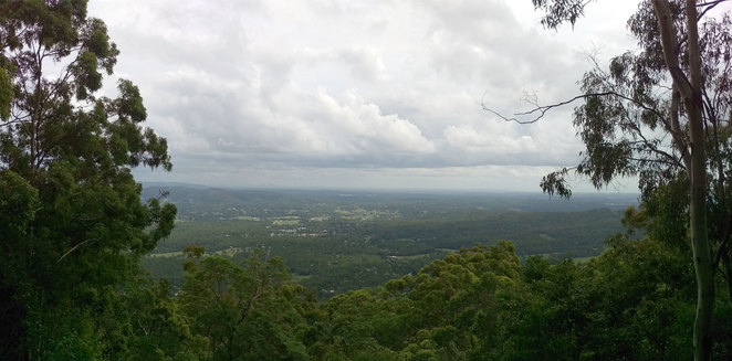Views of Samford Valley from Camp Mountain Lookout