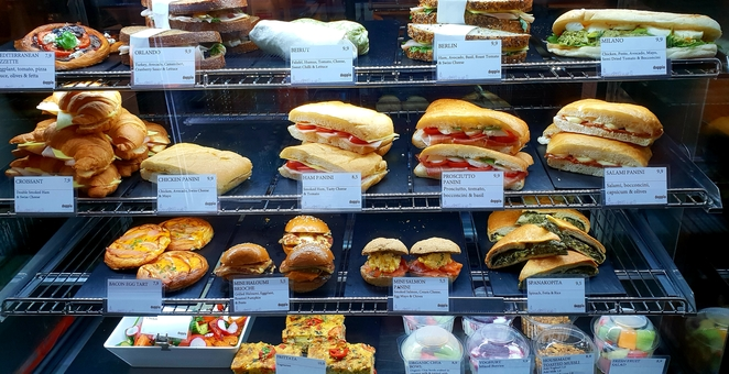 Sandwiches, Sydney, lunch, pastries, food, cafe, coffee