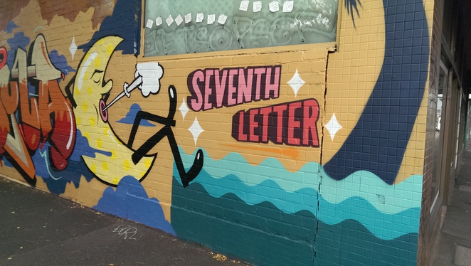seventh letter johnston street street art kids children appreciation experiential learning family day out