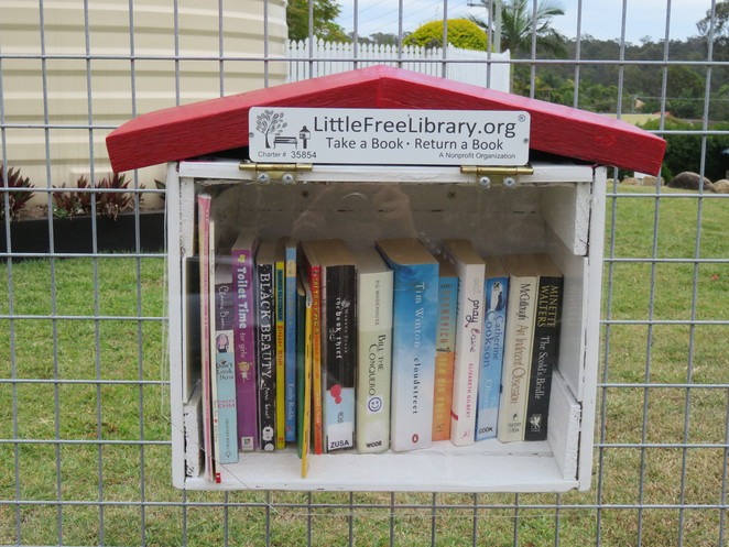 Street Library, Library, libraries, books, reading,