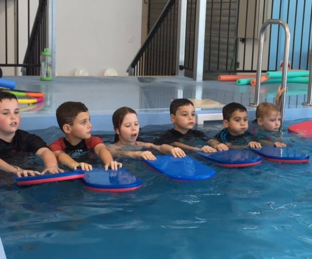 swimming, Logan, pool, lessons, learn to swim, children