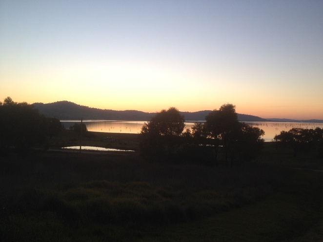 Sunset at Tallangatta
