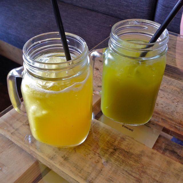 The Hardware Store Cafe and Eatery, fresh juice