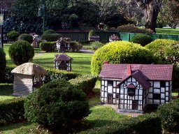 Tudor Village at Fitzroy Gardens