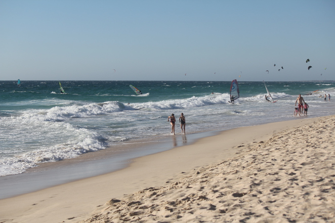 Windsurfing, Kitesurfing and Surfing