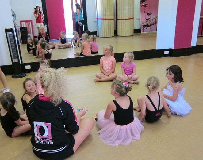 Dance classes, things to do with kids.