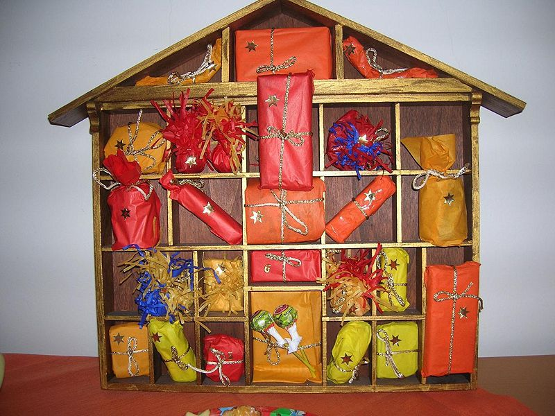 Unique Advent Calendar Ideas : Unusual advent calendar ideas everywhere