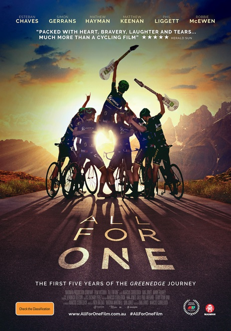All For One, All For One Film, All For One Film Review, All For One Movie Review, All For One Documentary, All For One Australian Film, Documentary Films, Cycling Films, Cycling Documentaries
