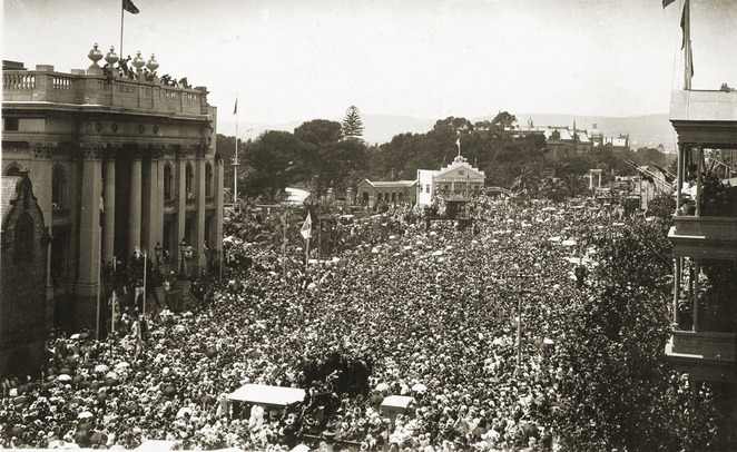 Armistice Day, North Terrace, Adelaide