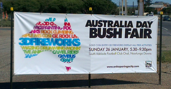Australia Day 2014, Australia Day Bush Fair, South Adelaide Football Club Australia Day