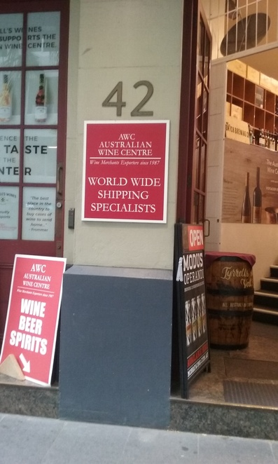 Australian Wine Centre Shipping Specialists