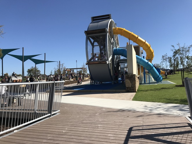 aviary creek park, parks in ellenbrook, best playgrounds in perth, new playgrounds, parks in perth with bbq facilities, unusual playgrounds