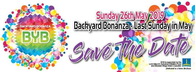 backyard bonanza 2019, byb, mcpherson park, free event, fun things to do, community event, entertainment, mcpherson park bracken ridge, childrens shows professional bands, school choirs, community choirs, dance groupos, instrumental ensembles, free activities, bracken ridge lions club, miniature steam train rides, youth activities, food trucks, market stalls, live music