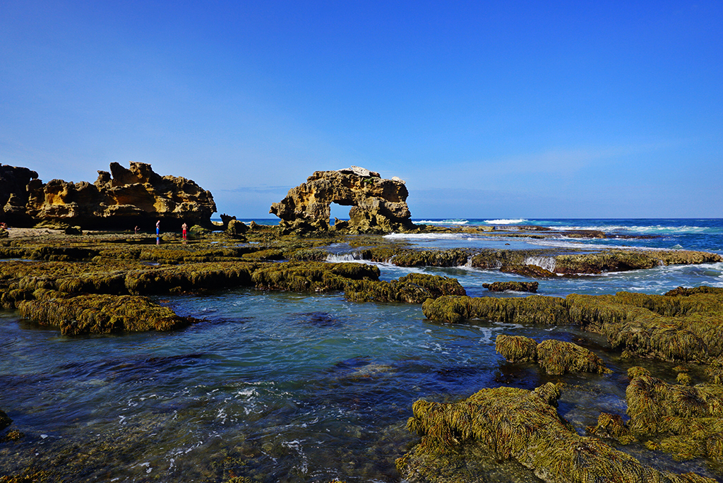 Adventure and a rock pool