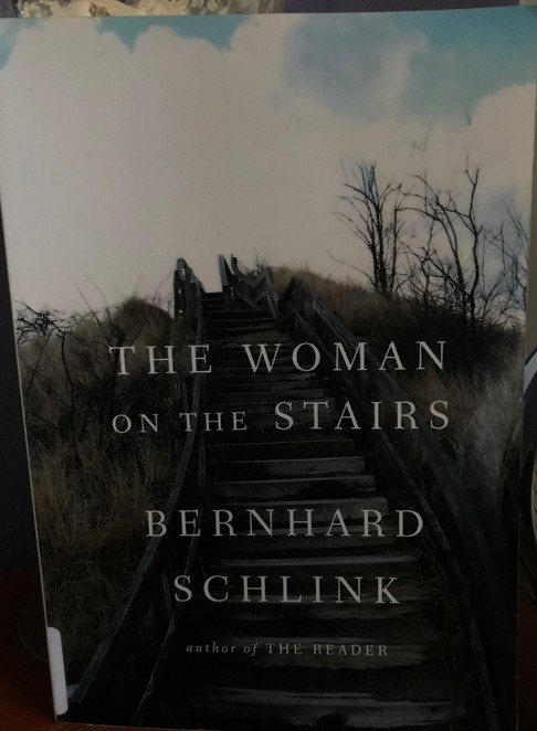 books, authors, literary, weekend reads, put your feet up, the woman on the stairs, bernhard schlink