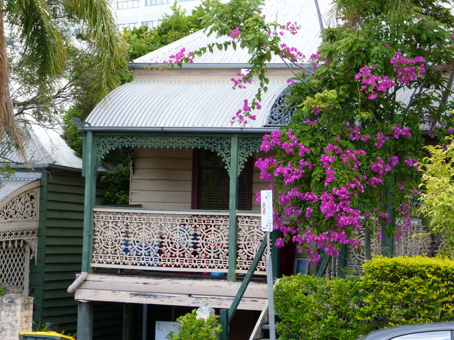 Brisbane Open House 2016,Spring Hill tin and timber cottage