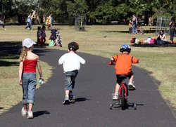 Centennial Park, Learners Cycle way