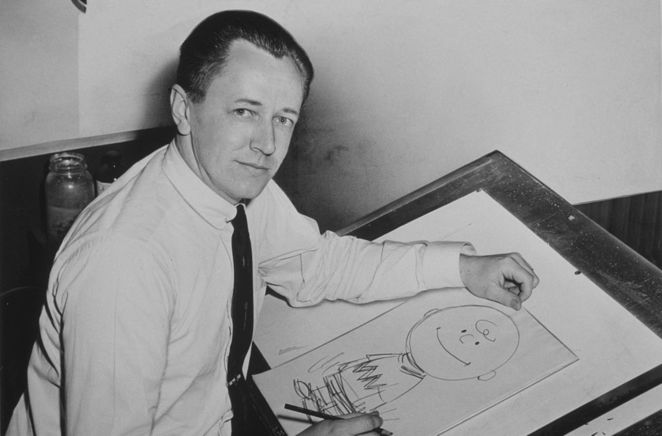 Charles M. Schultz, Charles Schultz, Peanuts, Charlie Brown, authors born in November