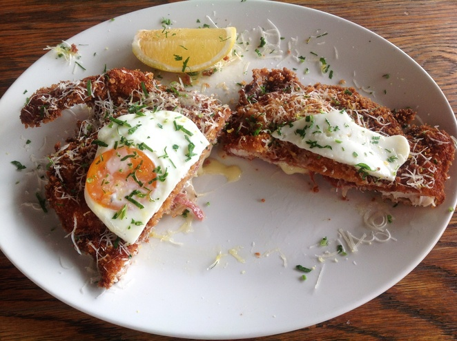 Chicken Milanese, Acre Eatery