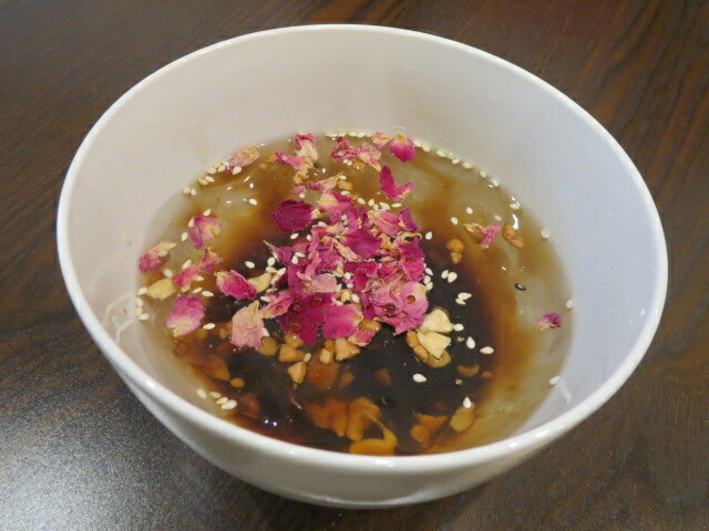 ChongQing House, Ice Jelly in Rose & Brown Syrup, Adelaide