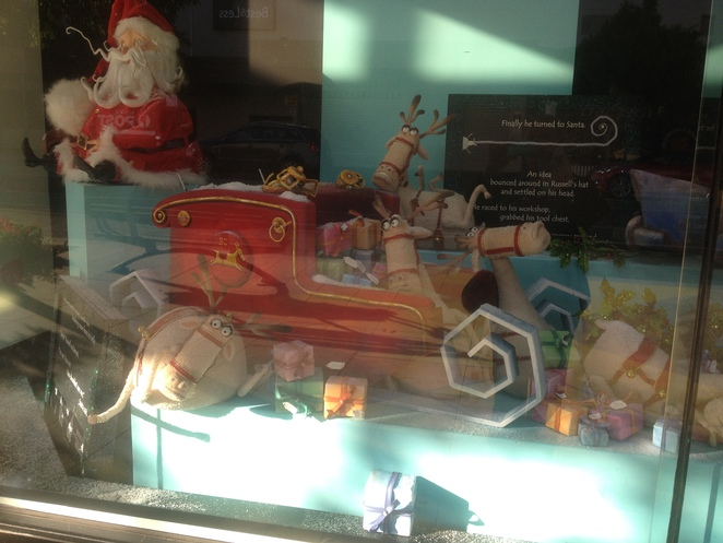 The Broken Sleigh - Myer Geelong Window