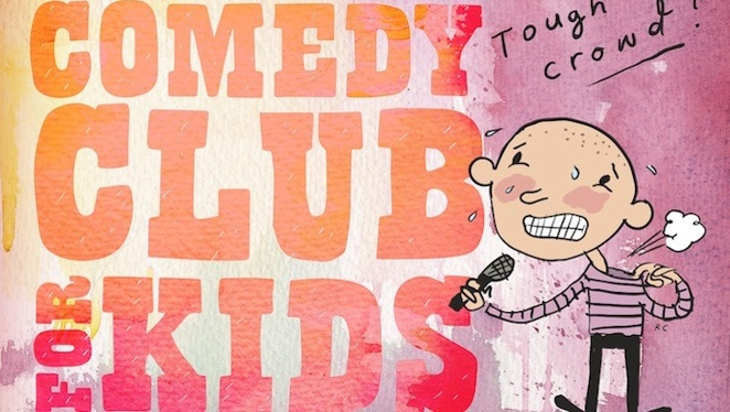 Comedy Club for Kids at the Famous Spiegeltent